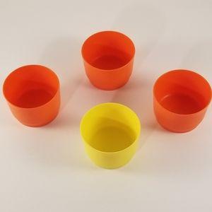 Vintage 2 inch Tupperware Cups